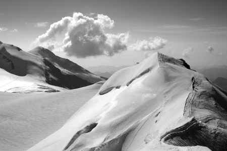 Dal Castore - 1.5 stop per dare a cielo e neve maggiore tensione