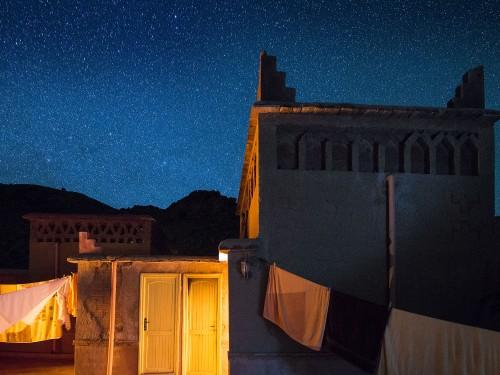 Dalla terrazza di un riad nella valle del Dades, Marocco. Ma quante sono?