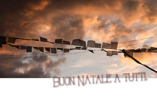 Buon Natale - Flags